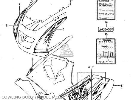 Suzuki Rgv250 1993 (p) (e02 E04 E21 E22 E24 E34) parts