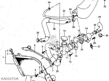 Suzuki Rgv250 1994 (r) parts list partsmanual partsfiche