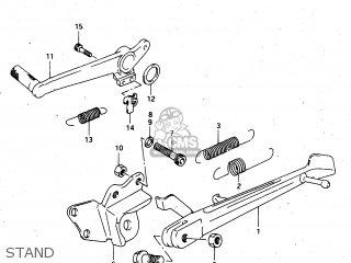 Suzuki Rgv250 1996 (t) (e24) parts list partsmanual partsfiche