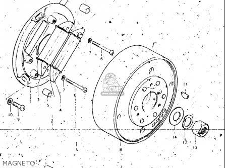Suzuki Rl250 1974-1975 Exacta (trials) (usa) parts list