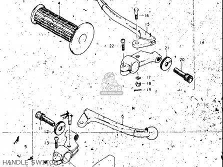 Suzuki Rl250 Exacta Trials 1974-1975 (l) (m) Usa parts