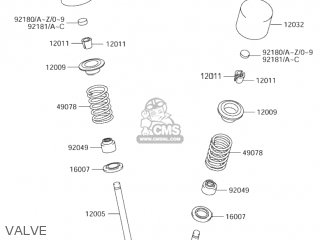 Suzuki RM-Z250 2004 (K4) USA (E03) RMZ250 RM Z250 parts
