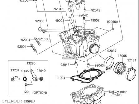 Suzuki Rm-z250 2005 (usa) parts list partsmanual partsfiche