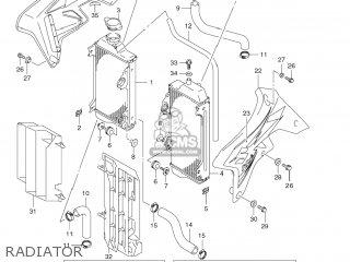 Suzuki RM-Z250 2008 (K8) USA (E03) RMZ250 RM Z250 parts