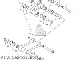 Suzuki RM-Z250 2012 (L2) USA (E03) RMZ250 RM Z250 parts
