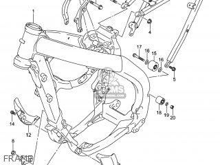 Suzuki RM-Z250 2014 (L4) USA (E03) RMZ250 RM Z250 parts