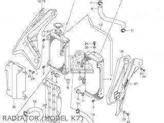 Suzuki RM-Z450 2005 (K5) USA (E03) RMZ450 RM Z450 parts