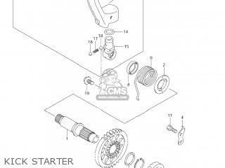 Suzuki RM-Z450 2007 (K7) USA (E03) RMZ450 RM Z450 parts
