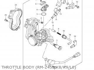 Suzuki RM-Z450 2008 (K8) USA (E03) RMZ450 RM Z450 parts