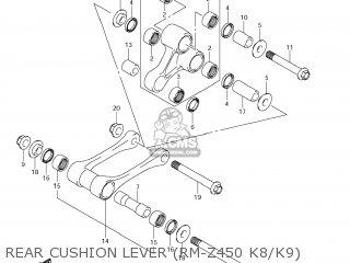 Suzuki RM-Z450 2010 (L0) USA (E03) RMZ450 RM Z450 parts