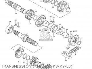 Suzuki RM-Z450 2011 (L1) USA (E03) RMZ450 RM Z450 parts