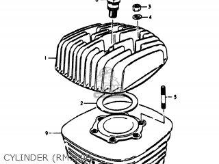 Suzuki Rm100 1978 (c) Usa (e03) parts list partsmanual