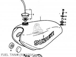 Suzuki Rm100 1978 (c) Usa (e03) parts list partsmanual