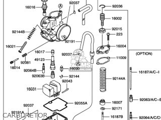Suzuki Rm100 2003 (k3) Usa (e03) parts list partsmanual