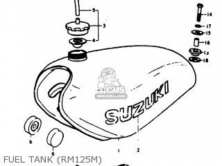 Suzuki RM125 1975 (M) USA (E03) parts lists and schematics