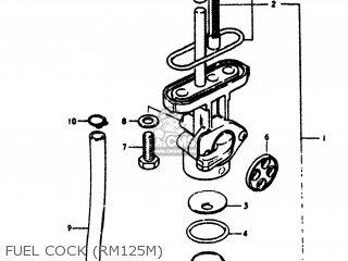 Suzuki Rm125 1978 (c) Usa (e03) parts list partsmanual
