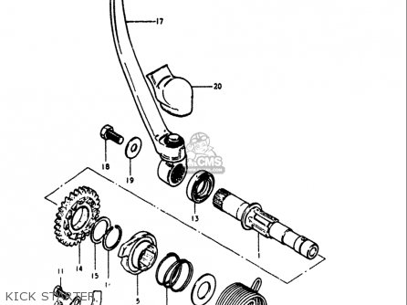 Suzuki RM125 1979 1980 (N T) USA (E03) parts lists and