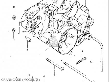 Suzuki Rm125 1981-1982 (usa) parts list partsmanual partsfiche