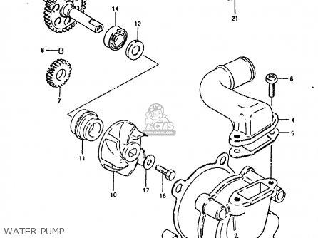 Suzuki Rm125 1981 (x) parts list partsmanual partsfiche