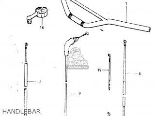 Suzuki Rm125 1982 (z) Usa (e03) parts list partsmanual