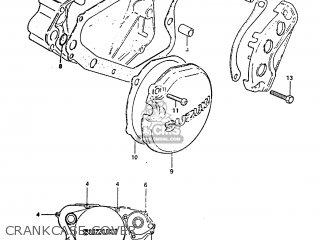 Suzuki RM125 1983 (D) parts lists and schematics