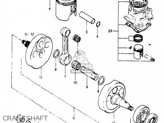 Suzuki Rm125 1983 (d) Usa (e03) parts list partsmanual