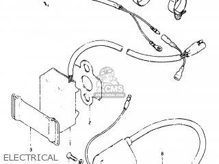 Suzuki RM125 1983 (D) USA (E03) parts lists and schematics