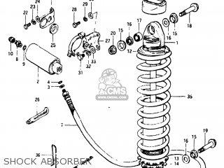 Suzuki Rm125 1983 (d) Usa (e03) parts list partsmanual