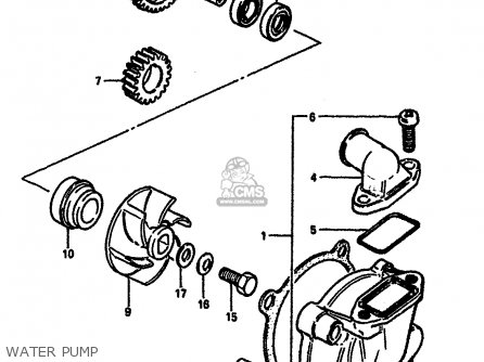 Suzuki Rm125 1985 (f) parts list partsmanual partsfiche