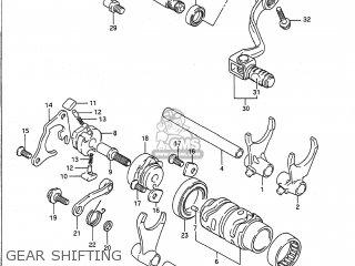 Suzuki Rm125 1989 (k) Usa (e03) parts list partsmanual
