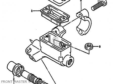 Suzuki Rm125 1990 (l) United Kingdom France Australia (e02