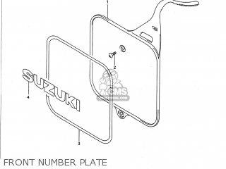 Suzuki RM125 1990 (L) USA (E03) parts lists and schematics