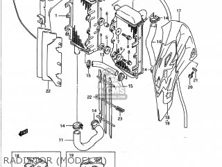 Suzuki Rm125 1990 (l) Usa (e03) parts list partsmanual