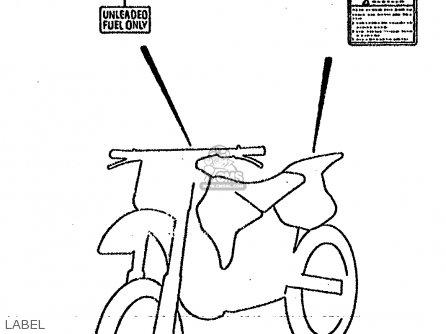 Suzuki Rm125 1992 (n) parts list partsmanual partsfiche