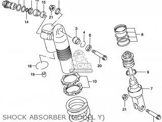 Suzuki RM125 1997 (V) USA (E03) parts lists and schematics