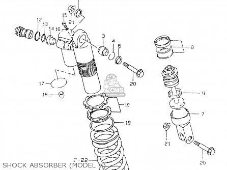 Suzuki Rm125 1998 (w) (e02 E04 E24 E37) parts list