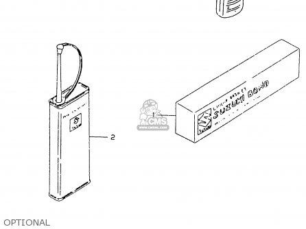 Suzuki Rm125 1999 (x) parts list partsmanual partsfiche