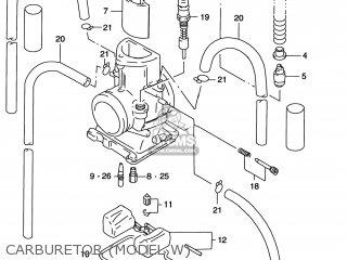 Suzuki RM125 1999 (X) USA (E03) parts lists and schematics