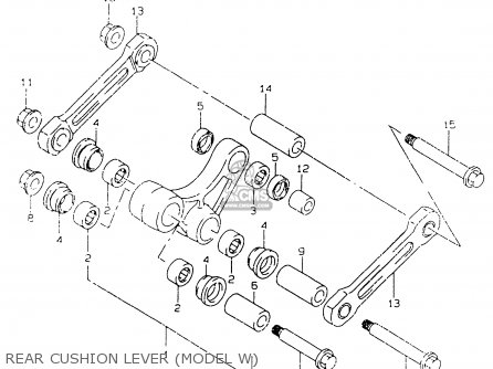 Suzuki RM125 2000 (Y) parts lists and schematics