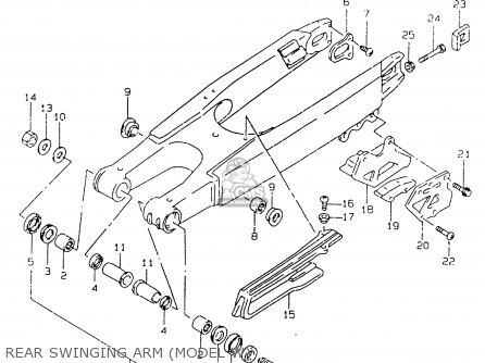 Suzuki RM125 2000 (Y) parts lists and schematics
