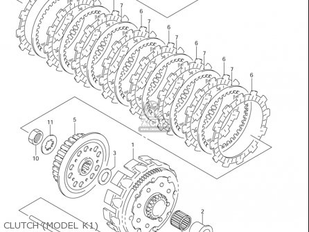 Suzuki Rm125 2001-2005 (usa) parts list partsmanual partsfiche