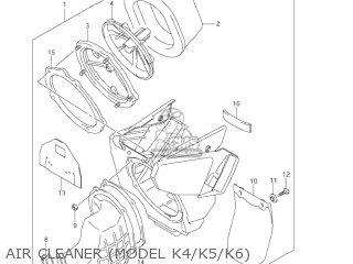 Suzuki RM125 2001 (K1) USA (E03) parts lists and schematics