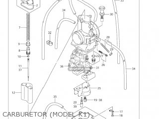 Suzuki RM125 2003 (K3) USA (E03) parts lists and schematics