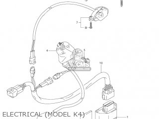 Suzuki Rm125 2003 (k3) Usa (e03) parts list partsmanual