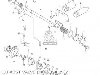 Suzuki Rm125 2003 (k3) Usa (e03) parts list partsmanual