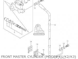Suzuki RM125 2003 (K3) USA (E03) parts lists and schematics