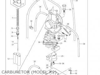 Suzuki Rm125 2004 (k4) Usa (e03) parts list partsmanual
