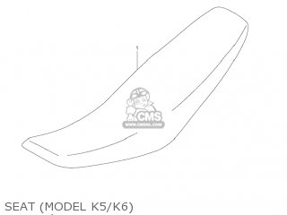 Suzuki RM125 2006 (K6) USA (E03) parts lists and schematics