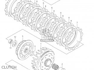 Suzuki Rm125 2007 (k7) Usa (e03) parts list partsmanual