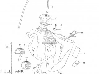 Suzuki RM125 2007 (K7) USA (E03) parts lists and schematics